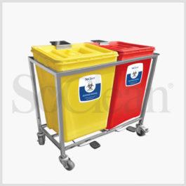 Waste Segregation System 2 Bin ( 30 Ltr)