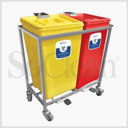 Waste Segregation System 2 Bin (60 Ltr.)
